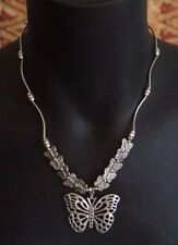 Butterfly Tibetan Silver Fashion Jewellery