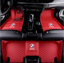 Luxurious custom For BMW 1 2 3 4 5 6 7 Series Car Floor Mats 2005-2019