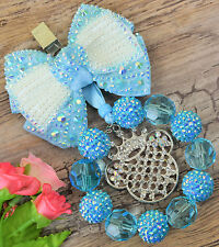 Stunning pram charm  for baby girls boys ideal gift  blue 2