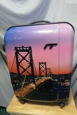 "IT Luggage Limited Edition San Francisco Bridge Scene 20"" x 15"" Suitcase Rollers"