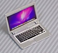 RC 1/10 Scale ACCESSORIES  METAL APPLE LAPTOP MAC BOOK Silver