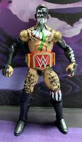 WWE Elite Mattel Fin Balor with Title Belt Summer Slam  2012 (Rare)