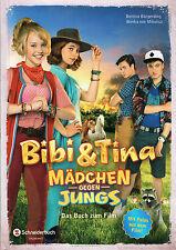 Bibi und Tina: Mädchen gegen Jungs, das Buch zum Kinofilm, NEU