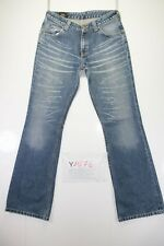 Lee Bootcut (Cod. Y1576) tg47 W33 L34 jeans high waist used vintage flared
