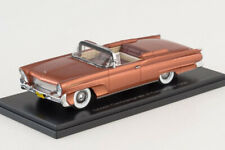 LINCOLN CONTINENTAL MKIII CONVERTIBLE 1958 BROWN 1:43 NEO46111