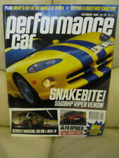 Cars, 1990s Performance Car Transportation Magazines
