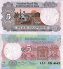 Inde - India billet neuf de 5 rupees pick 80 UNC