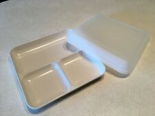 New Tupperware Ultra 21 Reheatable Divided Dish For Oven/Microwave