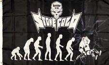 Stone Cold Steve Austin Stunner WWF Flag 3x5 Black Banner WWE Man-Cave Garage