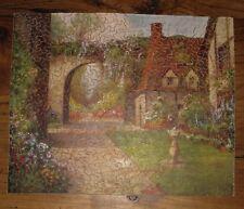 Ancien Puzzle Rex Vera bois découpé main - 400 pièces - La Vieille Porte complet