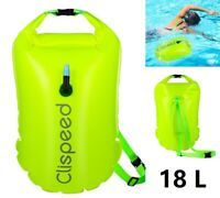 Safety Swim Buoy Flotation Aid Swimming Upset Inflated Device for Open Water Sea