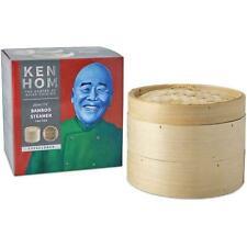 Ken Hom Excellence 2-Tier Bamboo Steamer 20 cm