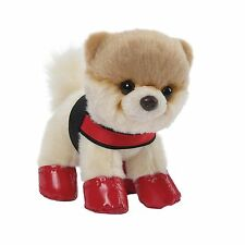 Gund 4050489 The Worlds Cutest Dog Itty Bitty Boo Rain Boots and Harness