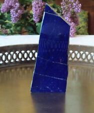 Lapislazuli Skulptur Anschliff  blau 524g tolle Deko Heim und Garten