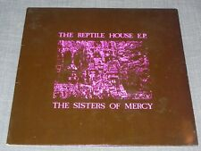 THE SISTERS OF MERCY The Reptile House EP EX/VG+ 1983