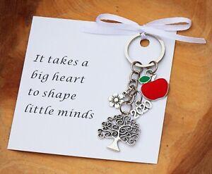 THANK YOU GIFT FOR  TEACHER -Teaching assistant ,Nursery teacher gift keyring *