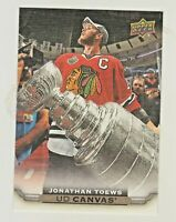 2015-16 Upper Deck CANVAS #C19 JONATHAN TOEWS Chicago Blackhawks QTY AVAILABLE