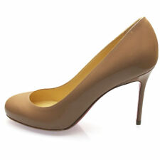 Louboutin : Lovely Escarpins Fifi Nude 85 mm T35, US5 UK2