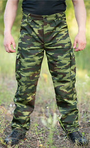 Russian Summer Army Only Pants in Flora Сolor 100% Original