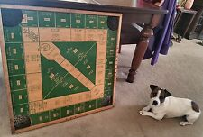 Carrom Baseball  Football Archarena Type - Two Sided Rare Wooden SP Board Game