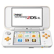 Nintendo New 2DS XL Spielekonsole weiß-orange Zusammenklappbar 2 Bildschirme