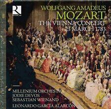 Mozart The Vienna Concert 23 March 1783 Box CD NEW Jodie Devos Garcia Alarcon