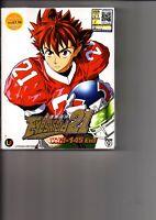 EYESHIELD 21 Vol.1-145 End Anime Serie DVD