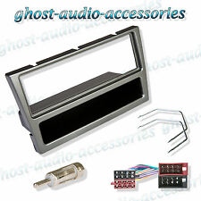Vauxhall Vectra Gunmetal Grey Car Stereo Radio Facia Fascia Adaptor Fitting Kit