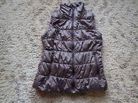 Columbia Omni Heat Vest Women's Size Small Grayish Purple Puffy