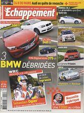 ECHAPPEMENT n°514 06/2010 BMW Z4 35iS 135i HONDA CR-Z AUDI RS5 WRC NOUVELLE ZELA