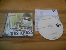 CD Hiphop PR Kantate pres Ras Krass - U Me Heart (1 Song) Promo V2 Presskit sc