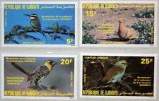 DJIBOUTI DSCHIBUTI 1985 429-32 590-93 Audubon Bicent. Birds Vögel Fauna MNH