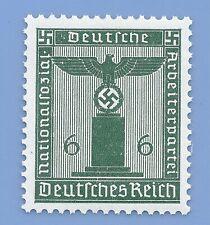Germany Third Reich Nazi 1938 Nazi Swastika Eagle 6 Stamp MNH WW2 ERA