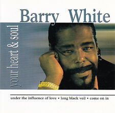 CD 11T BARRY WHITE YOUR HEART & SOUL BEST OF 2005 LUXURY MULTIMEDIA IRELAND