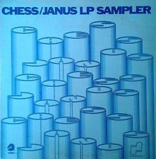 CHESS / JANUS -  LP SAMPLER- CHUCK BERRY, BO DIDDLEY, MUDDY WATERS, ARETHA,DELLS
