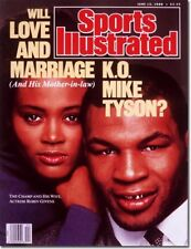 June 13 1988 Robin Givens Mike Tyson Sports Illustrated