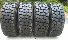 4 NEW 10-16.5 Skid Steer Tires for Bobcat & more-10X16.5-12 ply- non directional