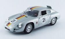 Best MODEL 9535 - Porsche Abarth #21 1000 KM de Paris - 1962  1/43