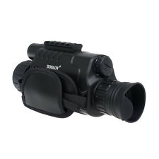 WG-37 Monocular Zoom Night Vision Scope Video Photo 8GB 5x40 Infrared IR Hunting