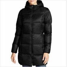 NEW Eddie Bauer Luna Peak Down Parka 550 Fill Womens Lightweight Jacket Coat