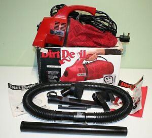 Royal Dirt Devil Plus 550UK Handy Zip Vacuum Cleaner Attachments S/N G93A026719