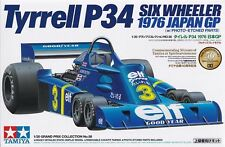 TAMIYA TYRRELL P34 1976 JAPAN GP - KIT MONTAGGIO 1/20 - ITEM 20058