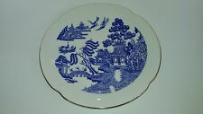 Vintage Westminster Blue willow pattern plate PICK UP ONLY VIC