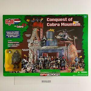GIJOE vs Cobra SpyTroops Conquest of Cobra Mountain with Shipwreck New Sealed