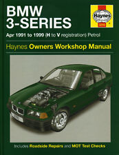 BMW 3 Series E36 Workshop Repair Manual from 1991-1999 with MPN HA3210