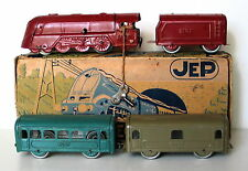 JEP Rare Train Naif mecanique de plancher 1950 Ref:1414-4