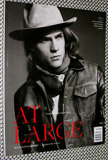 AT LARGE Magazine No.3, Malcolm Lindberg, Danny Amendola, Nick Wooster, J.Ralph