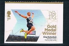 GB 2012 OLYMPIC GOLD MEDAL ATHLETICS GREG RUTHERFORD 1V S/ADH