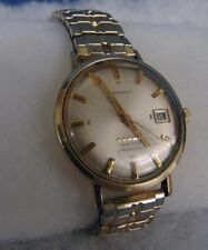 Longines Manual Wrist Watch 5 Star Admiral Automatic 10k Gold Filled w/ Date