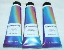 Bath & Body Works Kaleidoscope Hand Cream 1 oz. Lot of 3